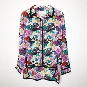 BAR III FRONT ROW Floral Blouse